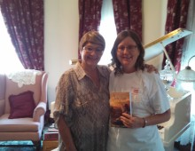 Author, Lynne Larson Visit, World Travelers and Artist Tour